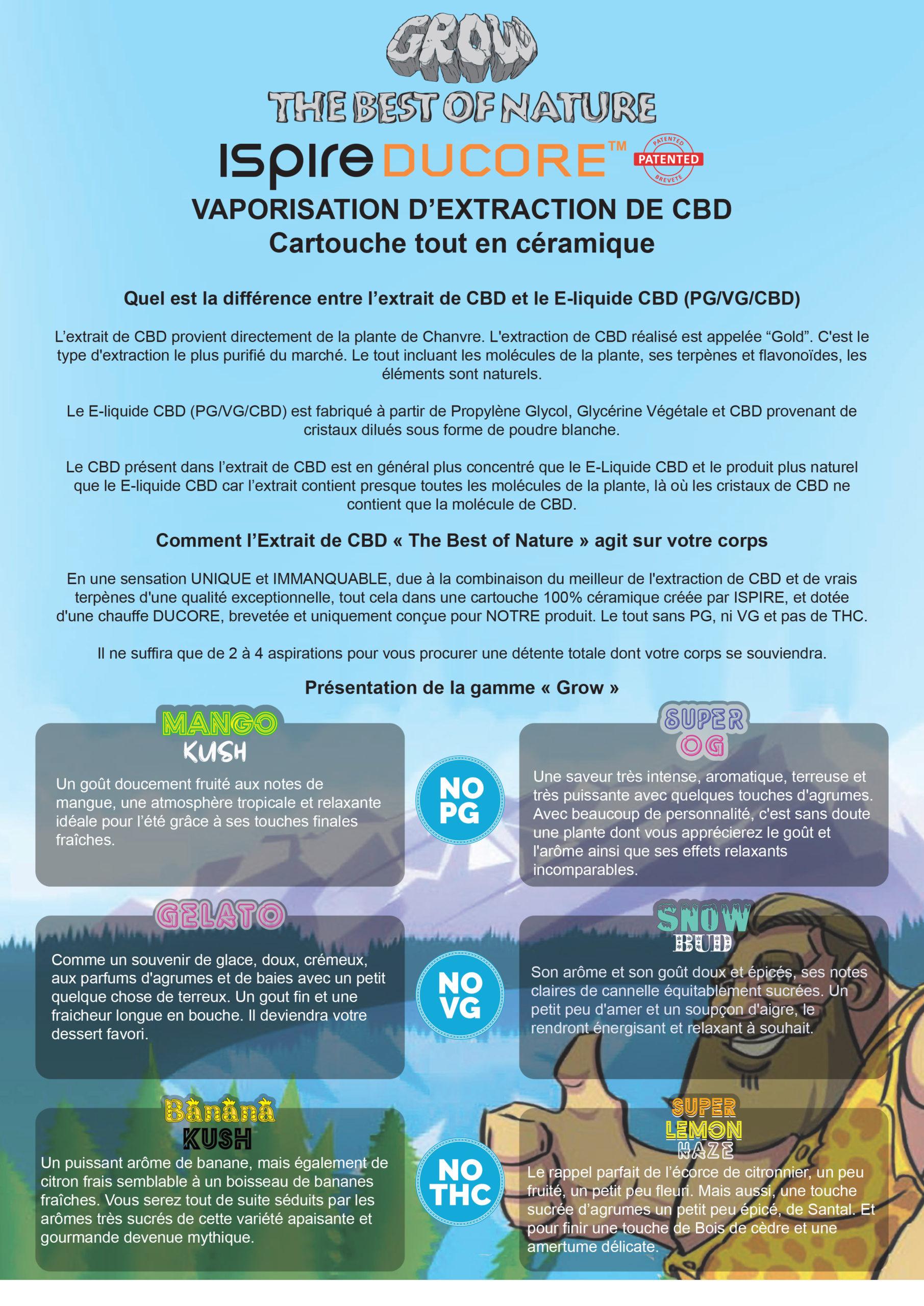 vaporisateur extrait cbd